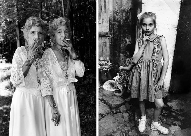 Sue-Gallo-Baugher-et-Faye-GalloTwinsburg-Ohio-1998-left-Street-ChildTrabzon-Turkey-1965-right