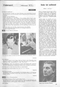VARA-gids vrijdag 7 februari 1958
