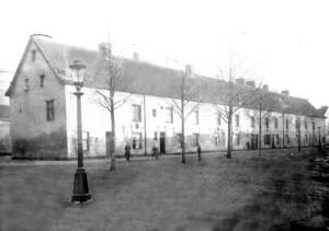 Achter de Barakken Kazerne ±1915