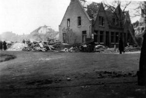 Ambachtsweg blauwdorp 1941 bominslag