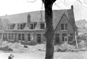 Blauwdorp 1 Bominslag  1940