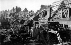 Blauwdorp bominslag 1941