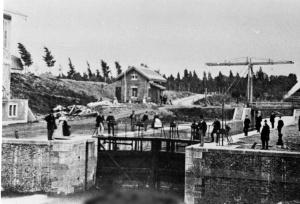 Boschpoort Sandersbrug 1868 sluis Zd.Willemsvaart