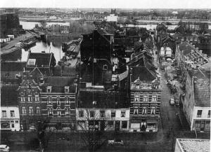Boschstraat met St.Antoniustr. 1956