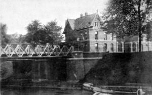 Commandeurslaan ±1905 slachthuis