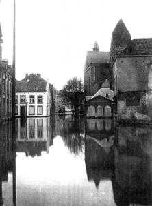Graanmarkt 1926 watersnood 2