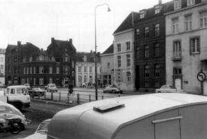 Graanmarkt 1968 met gedempt kanaal