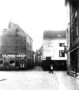 Grote Stokstraat 1930 naar Kl.Stokstr.
