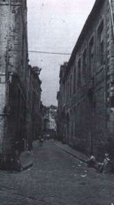 Grote Stokstraat 1950- nabij Plankstraat