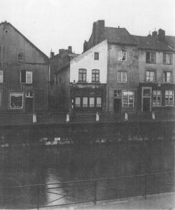 Hasseltkade van ±1930 huizen 3 ingang Raamstr