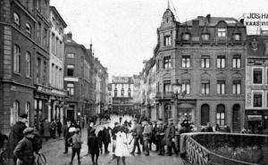 M.Brugstraat 1918 - vanaf Servaasbrug