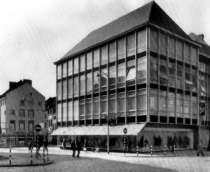M.Brugstraat 1970 - aansluiting Het Bat