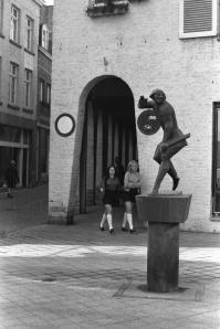 M.Smedenstraat 1967 - nabij Stokstraat 'Mestreechter Geis'