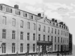 Papenstr. Oud Gouvernement 1902