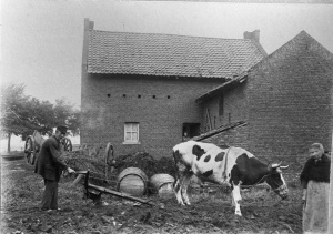 St. Hubertuskerk Boschpoort  plaats huid. kerk ±1920