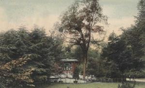 Ingelsen Hoof met muziekpaviljoen 1907