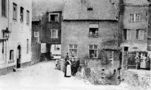 Molen van Clemens met doorgang naar Pieterstr.1925