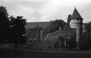 Pater Vinktoren met Faliezustersklooster 1969