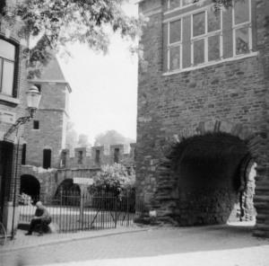 St. Bernardusstr ingang Helpoort 1960