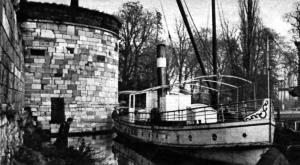 Vijf Koppen 1933 met boot Bonhomme